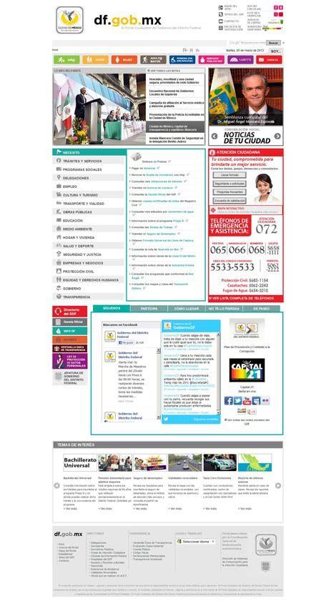 Páginas web hechas con Joomla